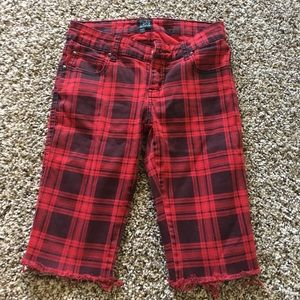 Tripp nyc Pants - Tripp cutoff knee shorts