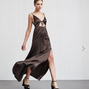 Reformation Dresses & Skirts - Reformation eclipse dress brown