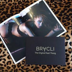 bed10fc8701d Bracli Intimates & Sleepwear - Bracli original pearl thong in classic black  NWT