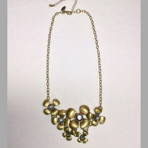 Lia Sophia Jewelry - Lia Sophia Floral Antique Gold Necklace