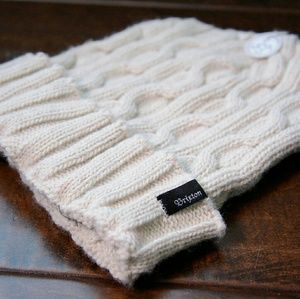 Brixton Accessories - Beige BRIXTON beanie *NEW*