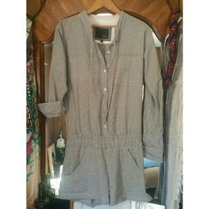 Rails Other - Rails Striped Romper with Pockets