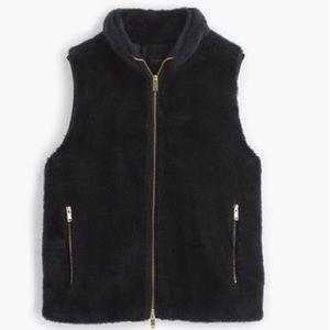 J. Crew Jackets & Blazers - J.Crew Plush fleece excursion vest