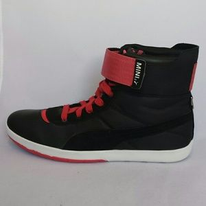 962321729c6 Puma Shoes - Puma  Celerity  Leather Hi-Top Sneakers