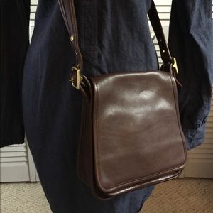 Vintage Coach Leather Crossbody