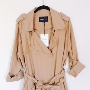 Who What Wear Jackets & Blazers - Who What Wear | Brown Light Trench Coat