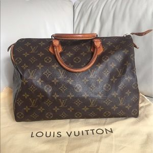 Louis Vuitton Handbags - 💯Authentic Louis Vuitton Speedy 35 vintage