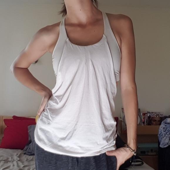 62 off lululemon athletica tops lululemon off white for White bra white shirt