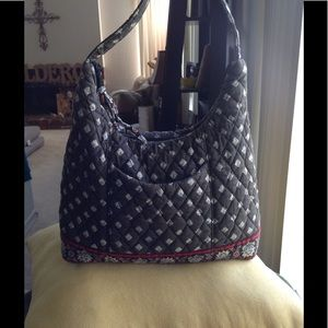 """Vera Bradley """"French Country"""" small shoulder purse"""