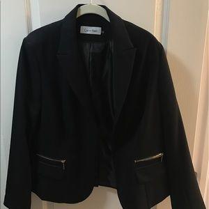 Jackets & Blazers - Calvin Klein with zipper blazer
