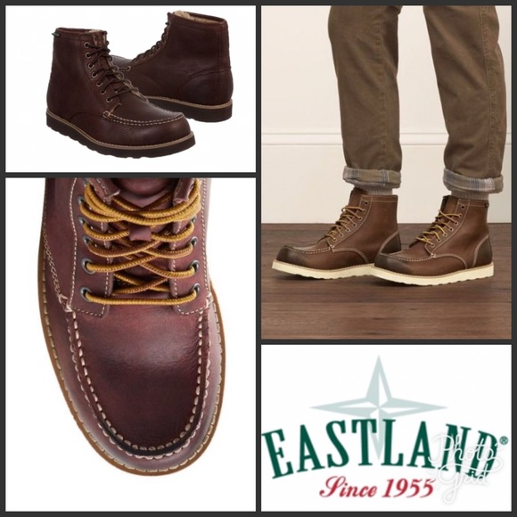 fe15c77eb74 🎉Host Pick🎉 Eastland Lumber Up Leather Boots NWT