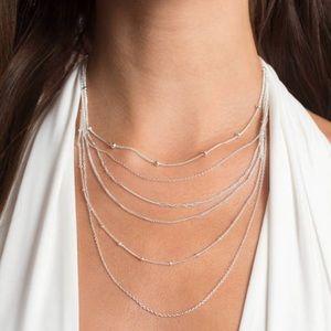many strand necklace