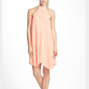 Tildon Dresses & Skirts - Tildon Halter A-line Dress, peach
