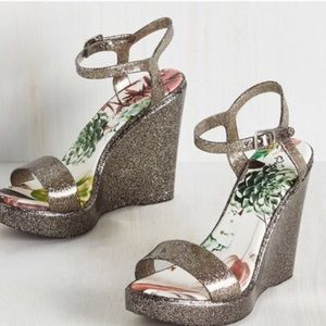 Modcloth Shoes - Awesome 90's Retro Gelly Wedges