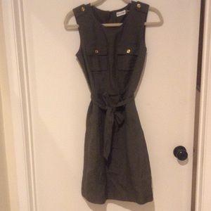 Marvin Richards Sleeveless Olive Green Dress Sz 4