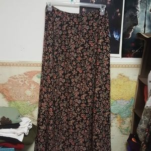 American Threads Dresses & Skirts - Floral maxi skirt