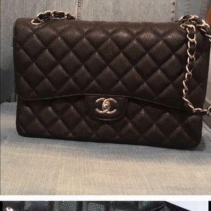 CHANEL Handbags - Chanel Jumbo Double Flap Bag
