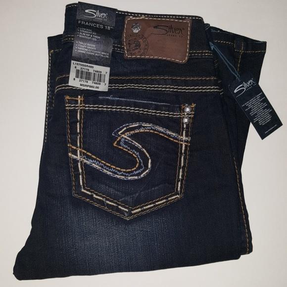 169684dc Silver Jeans Jeans | New Frances Low Rise Bootcut | Poshmark