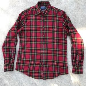 Topman Other - Topman Tartan Long Sleeve Flannel