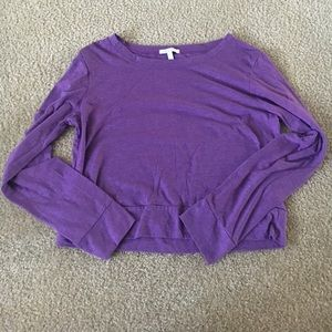 Tops - Brand new without tags cropped purple tee