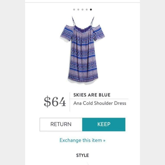 Skies Are Blue Dresses & Skirts - BEST DRESS EVER! From Stitch Fix. Sz S