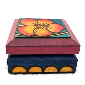Accessories - Wooden Jewelry Case