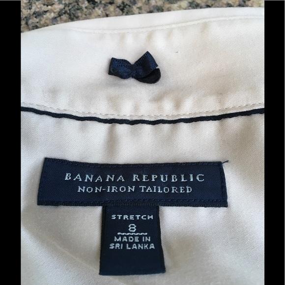 banana republic banana republic tailored no iron shirt