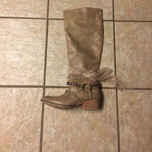 thelma ribbon Shoes - Boots