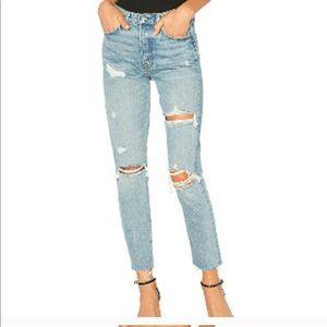 GRLFRND Denim - Petite Karolina high rise jeans
