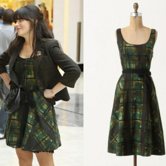 9748114aa3cc Anthropologie Dresses | Nwt Maeve Painted Plaid Dress | Poshmark