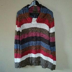26 International Sweaters - Multi stripped sweater