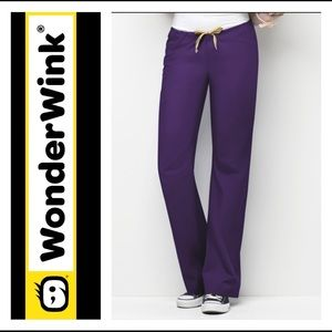 3/$25 Wonder Wink Eggplant Purple Unisex Pants 🌵