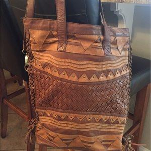 Cleobella Handbags - Cleobella Leather Purse/Tote