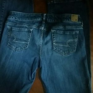 American Eagle Outfitters Denim - American Eagle Low Rise Long in Length