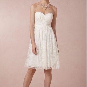 Jenny Yoo Dresses & Skirts - Jenny Yoo lace strapless fit and flare dress