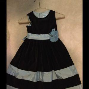 Luli & Me Other - Lull and Me Brown Velvet Dress SZ 5