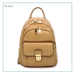 Handbags - 💰NEW Fashion Push Lock Pocket Mini Backpack