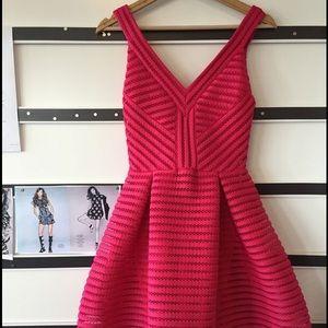 Maje Dresses & Skirts - Make Hot Pink Dress