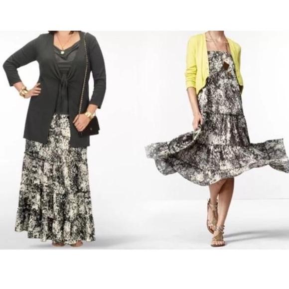 Cabi Skirts Saunter Convertible Skirt Dress Style 781