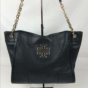 Tory Burch Handbags - Tory Burch Britten Slouchy Leather Tote
