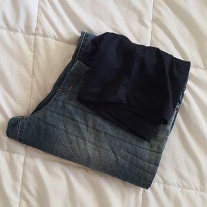 Liz Lange Maternity Boot Cut Denim Jeans