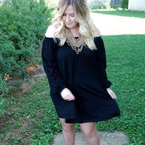 ASOS Dresses & Skirts - ASOS Swing Off the Shoulder Dress