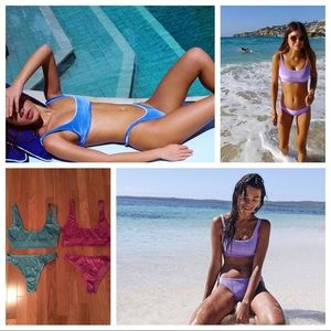 triangl swimwear Other - 2 velvet bikinis