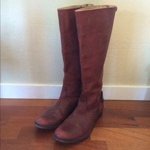 Frye Shoes - Frye Melissa Button Back Zip Boot