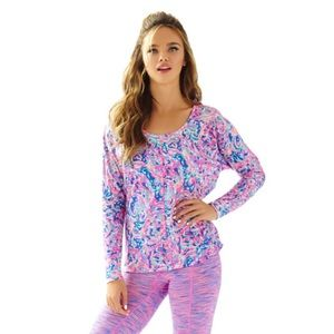 Lilly Pulitzer Luxletic Long-sleeve T-Shirt