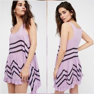 Free People Dresses & Skirts - Free People Voile Polka Dot Lace Slip Dress