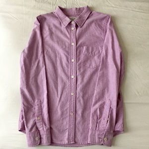 Madewell Tops - Broadway & Broome Lavender Oxford Button Down