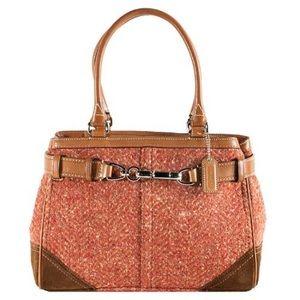 Coach Handbags - 🚨SALE🚨Coach Wool/Tweed Hampton Tote