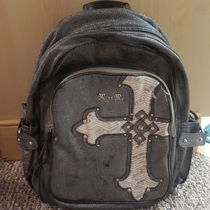 8cb6db3bebba Miss Me Bags - Gently used miss me backpack