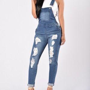 American Bazi Pants - American Bazi Jean Jumpsuit